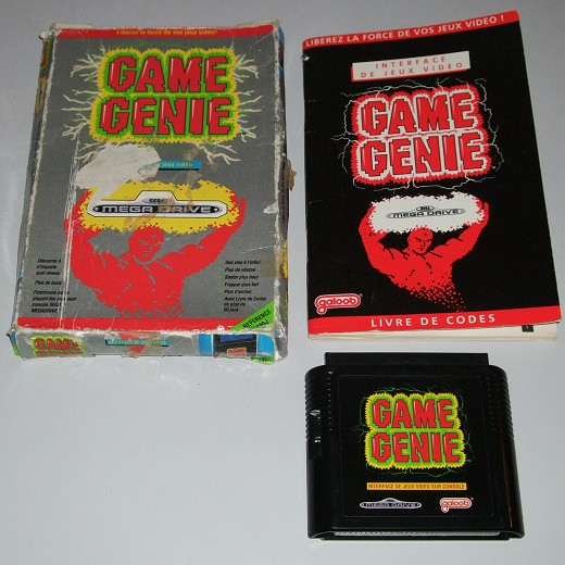 Use Game Genie Megadrive