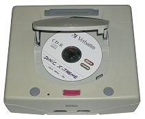 CD-R sur Sega Saturn